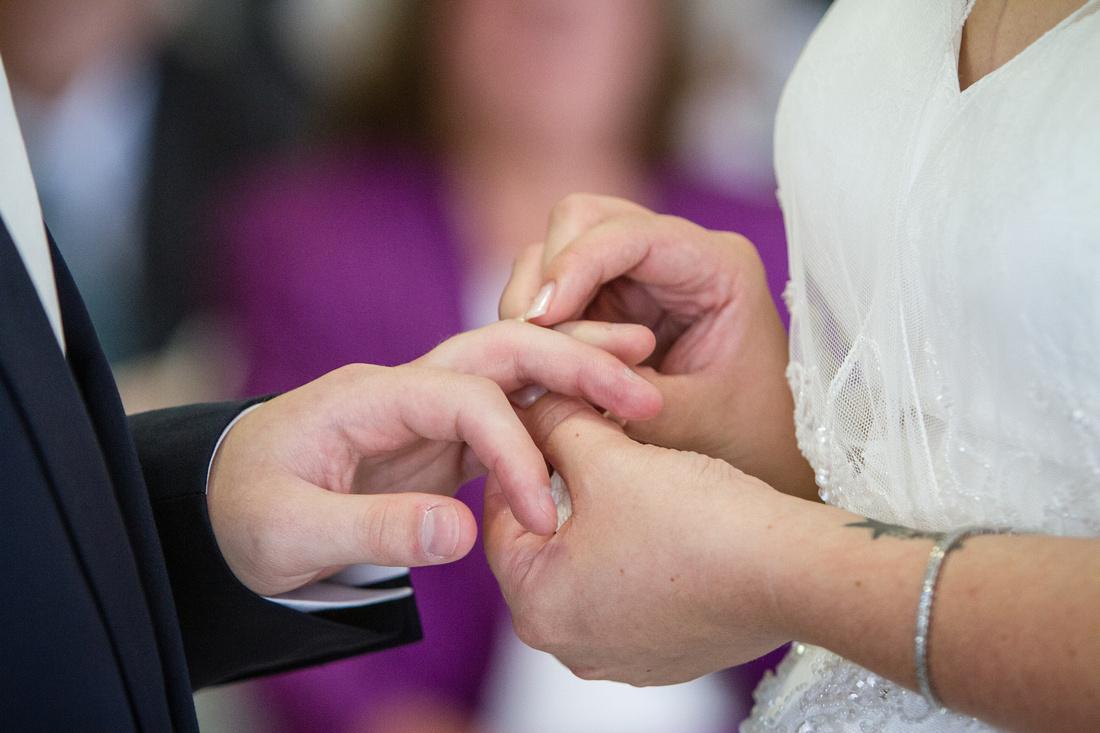 Wedding Photography - The Exchange of Rings