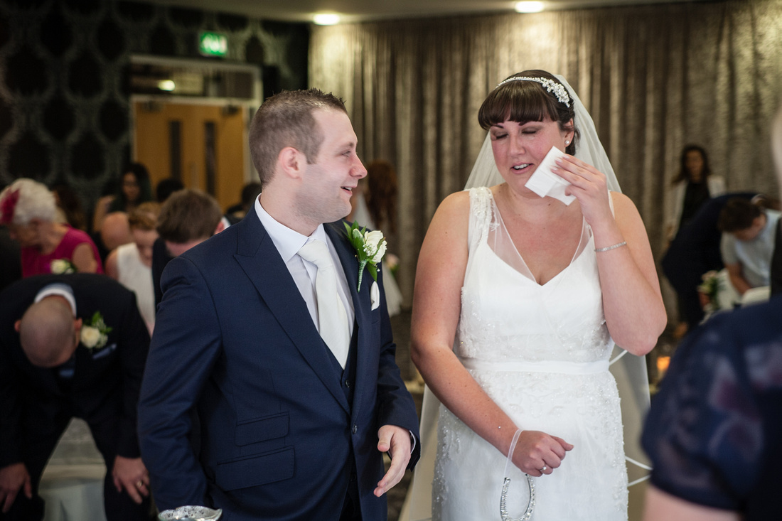 Wedding Photography - Laughter and Tears